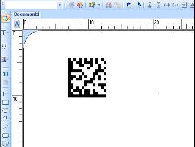 如何在CODESOFT详细设置Data Matrix二维码?