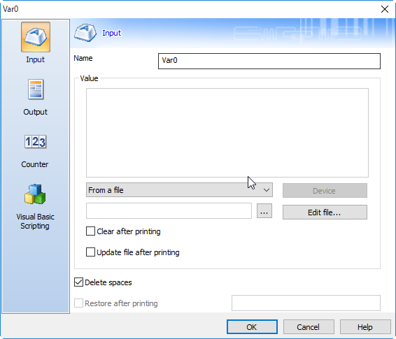 如何CODESOFT中快速导入TXT文件?